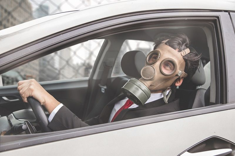 mascara contaminacion
